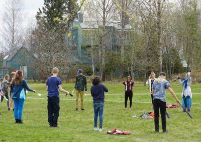 Workshop i eldkonst